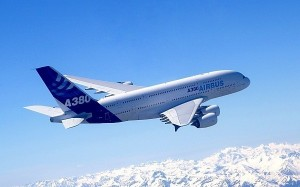 Airbus A380 First Flight 27 April 2005 Picture