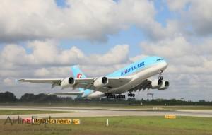 Korean Air First A380 Flight-Test KAL Airbus Picture