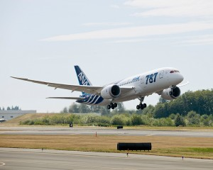 ANA All Nippon Airways First Boeing 787 Dreamliner Delivery Picture