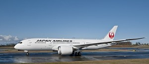 Boeing Delivers Japan Airlines' first 787 Dreamliner